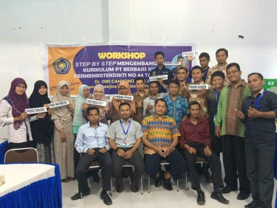 Workshop Step by Step Pengembangan Kurikulum PT Berbasis KKNI